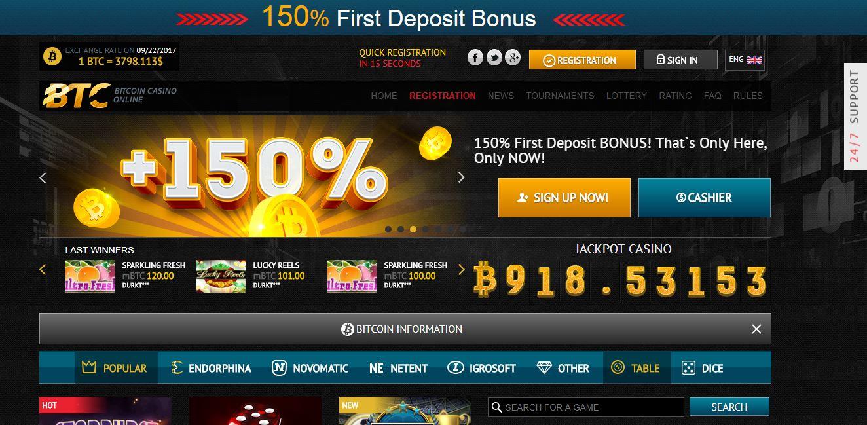 Kasino bitcoin online dengan dealer sungguhan