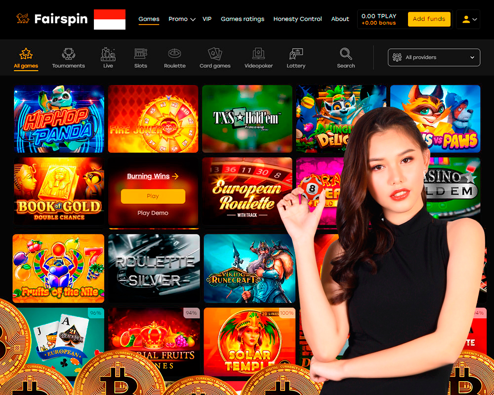 Situs kasino bitcoin menyetor bonus